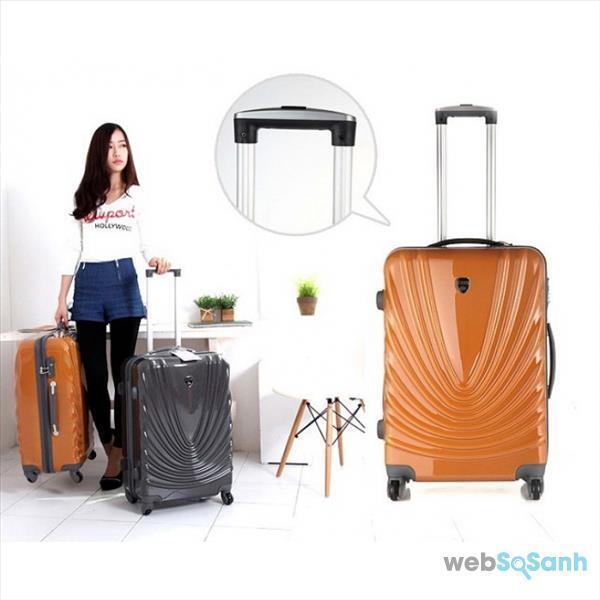 giá vali kéo nhựa eddas