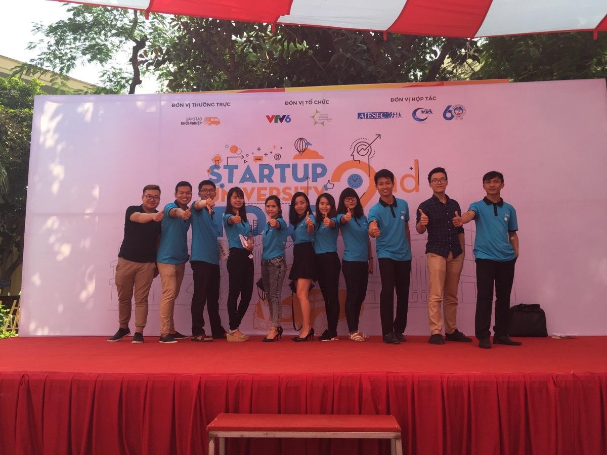Websosanh tham gia Startup Unitour