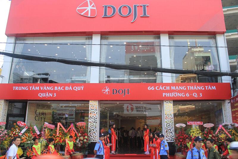Địa chỉ các cửa hàng vàng bạc đá quý DOJI trên toàn quốc