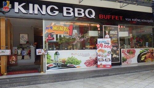 Địa chỉ các nhà hàng King BBQ tại Việt Nam