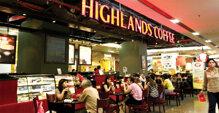 Địa chỉ Highlands Coffee tại Hà Nội và các tỉnh miền Bắc