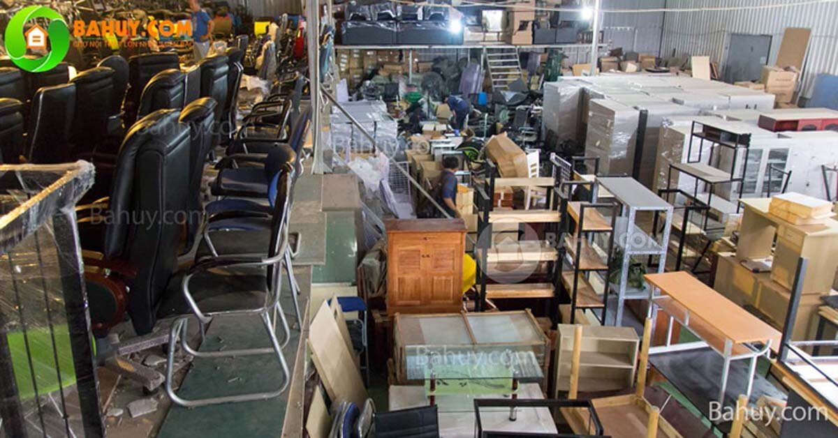 Địa chỉ mua bàn ghế văn phòng thanh lý uy tín ở Hà Nội?