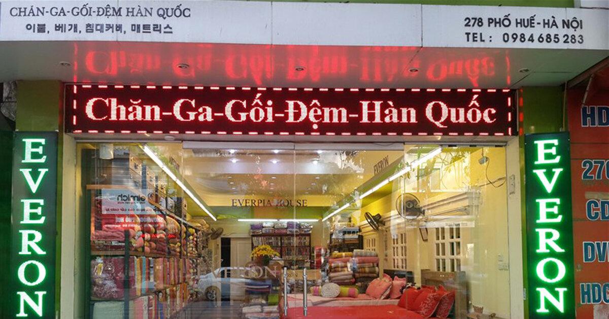 Địa chỉ mua chăn điện Hàn Quốc giá rẻ uy tín tại Hà Nội