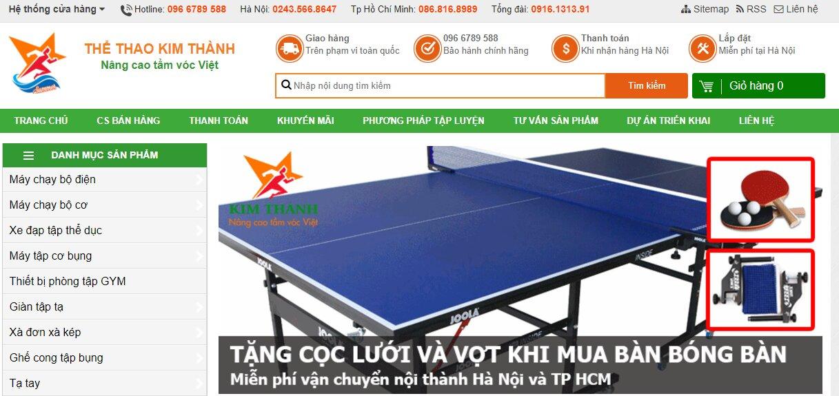 Địa chỉ mua dụng cụ tập thể dục thể thao uy tín giá tốt nhất tại Hà Nội, thành phố Hồ Chí Minh
