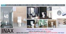 Địa chỉ mua thiết bị vệ sinh Inax chính hãng giá rẻ tại Hà Nội