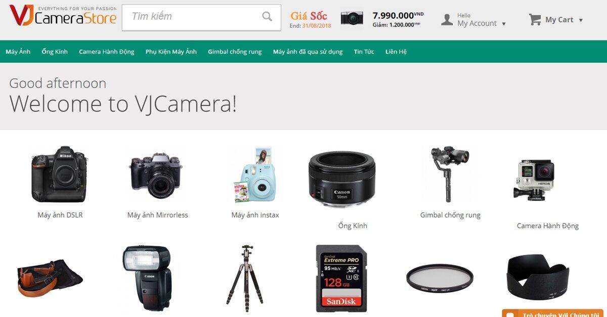 Dịch vụ Order máy ảnh và phụ kiện từ Nhật Bản