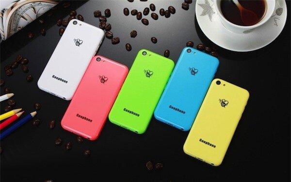 Điểm danh 4 mẫu smartphone Android 'ăn theo' iPhone 5c