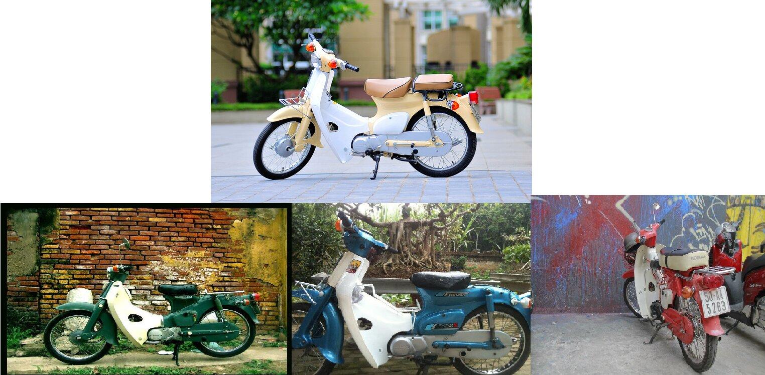 Điểm danh một số mẫu độ xe Honda Cub cực chất của biker Việt