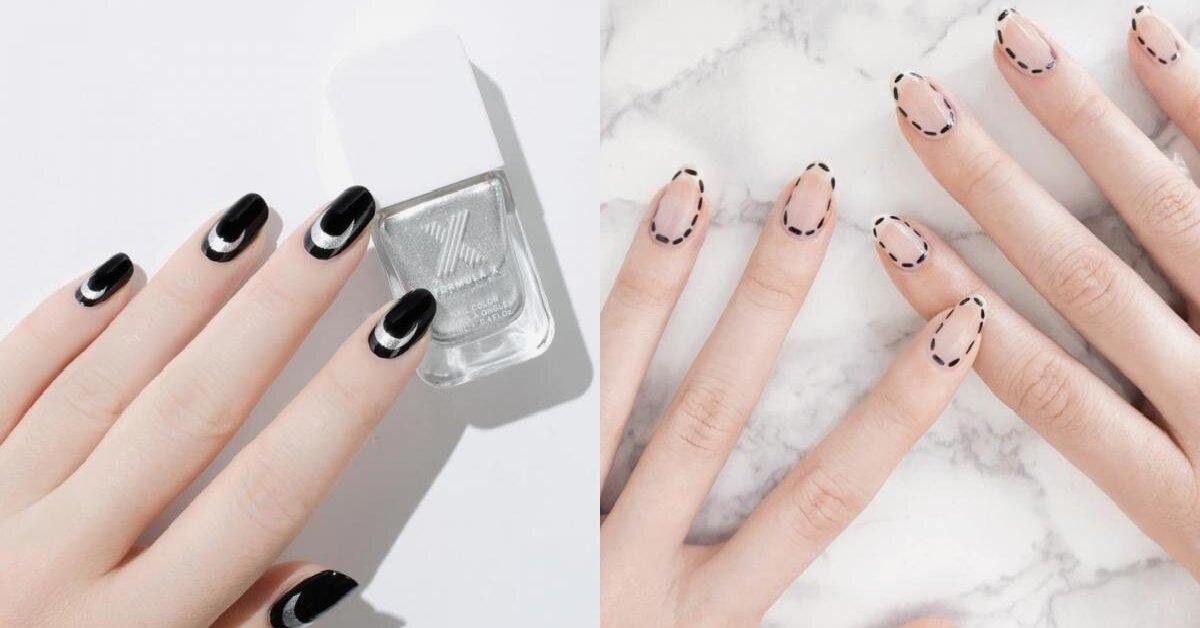 Điểm mặt 15 mẫu sơn móng tay đẹp kiểu Pháp cho quý cô thanh lịch