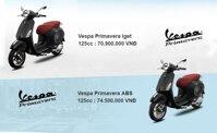 Điểm mặt các dòng Vespa Primavera có mặt trên thị trường Việt Nam