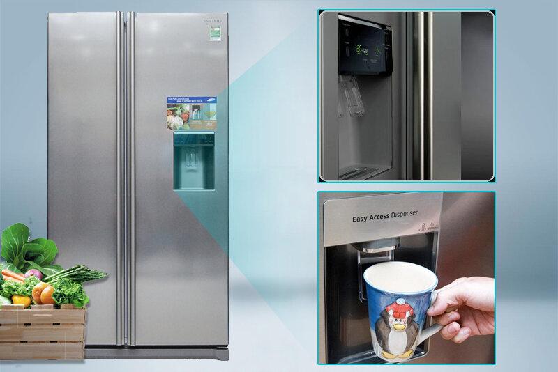 Điểm mặt những tủ lạnh side by side Samsung tốt nhất để mua trong năm 2017