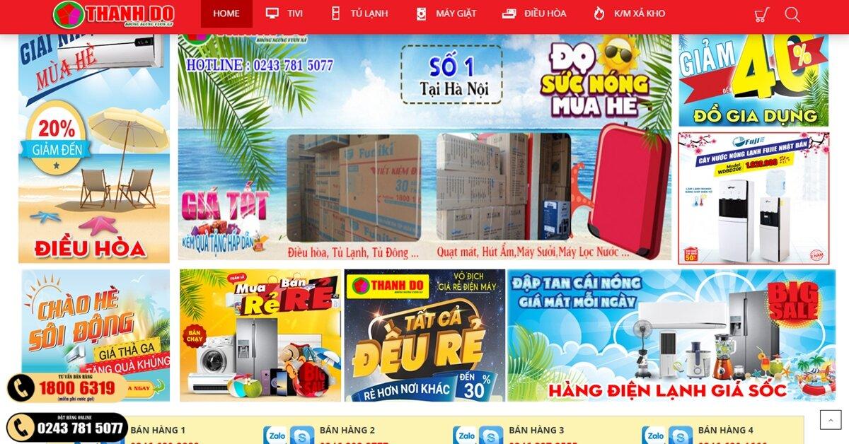 Điện máy Thành Đô – Nhà Phân phối Fujie, Funiki, Samsung tại Miền Bắc