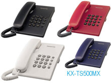 Điện thoại để bàn panasonic kx ts500mx thiết kế nhỏ gọn với chức năng chỉnh âm lượng , gọi lại số gần nhất.