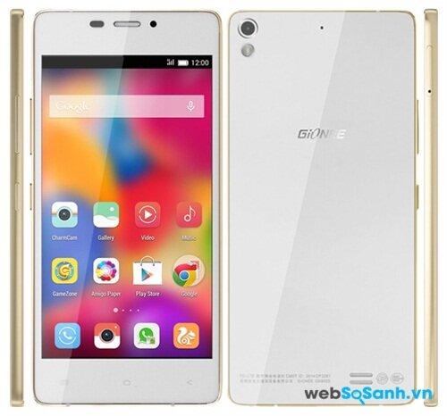 Điện thoại Gionee-Elife-S5.1 với thiết kế tinh xảo, siêu mỏng và cực nhẹ