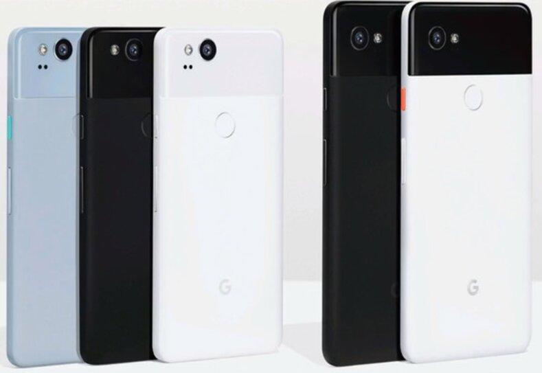 Điện thoại Google Pixel 2 và Pixel 2 XL có gì mới ? giá bao nhiêu tiền ?