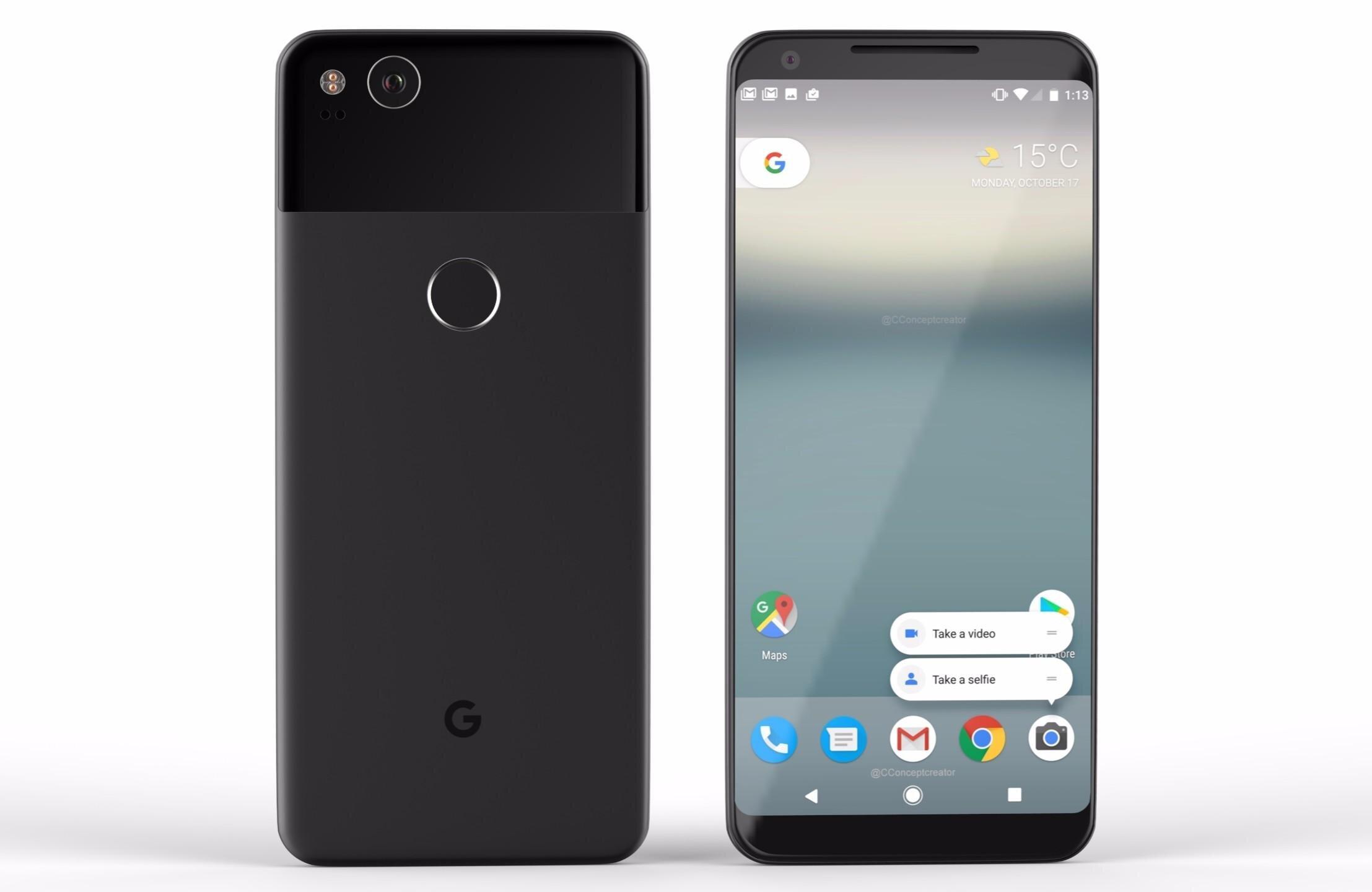 Điện thoại Google Pixel 2 XL bị hiện tượng lưu ảnh