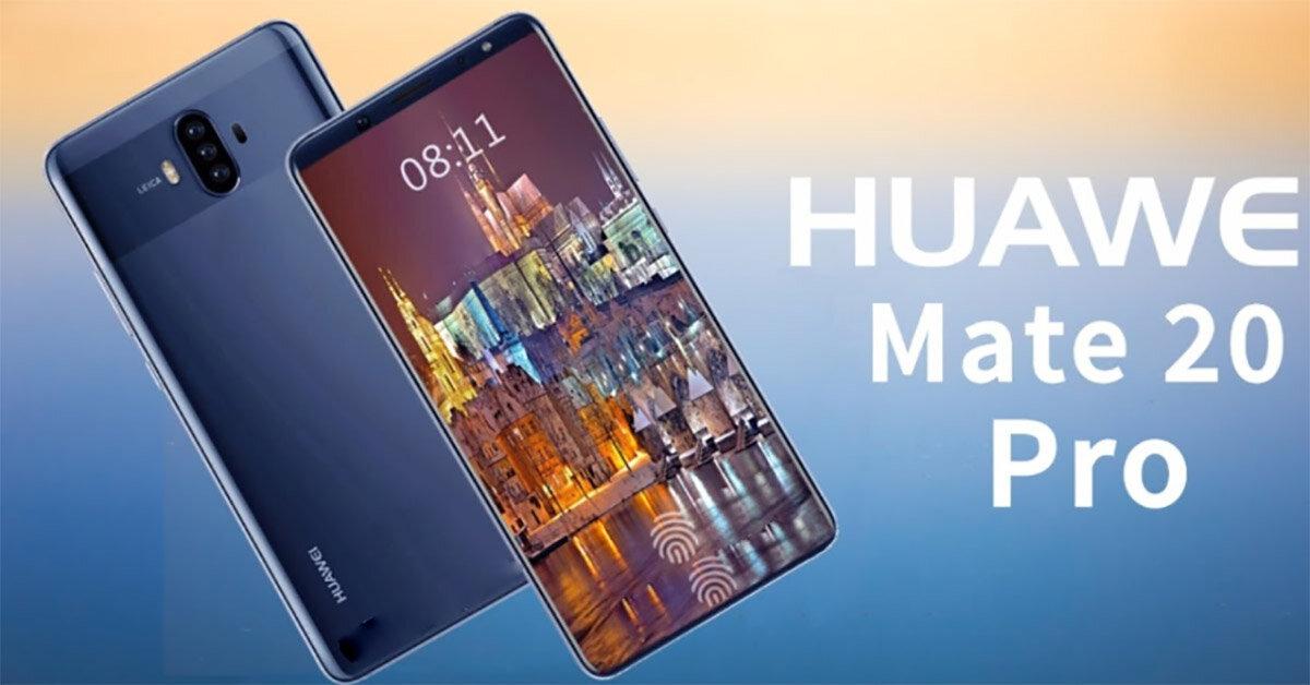 Điện thoại Huawei Mate 20 Pro gây choáng với thiết kế siêu đẹp – Kiểu dáng tai thỏ sành điệu