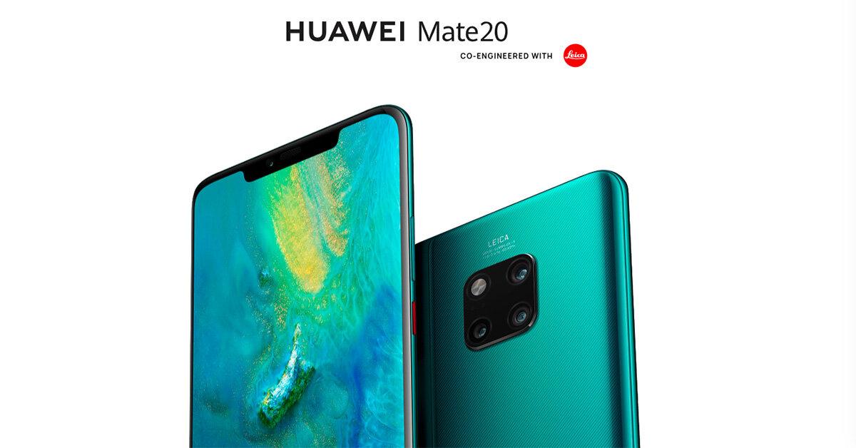 Điện thoại Huawei Mate 20 và Huawei Mate 20 Pro ra mắt: Trang bị 3 camera sau, cùng nhiều cải tiến nâng cao