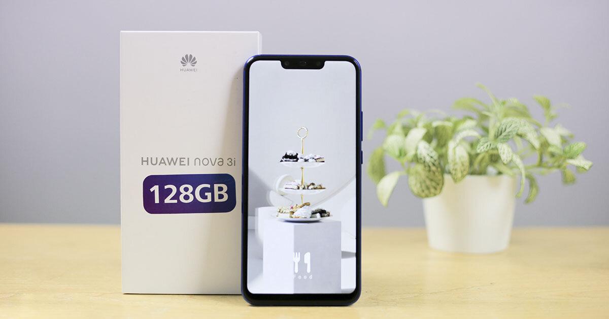 Điện thoại Huawei Nova 3i có tới 4 camera và mức giá siêu rẻ