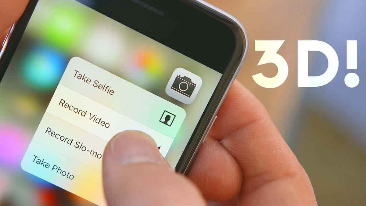 Điện thoại iPhone 2018 có thể sẽ biến mất chức năng 3D Touch