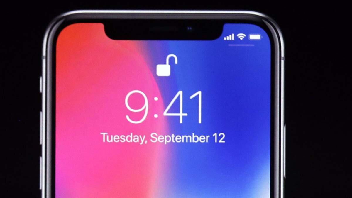 """Điện thoại iPhone X 2018 sẽ có cụm """"tai thỏ"""" siêu nhỏ"""