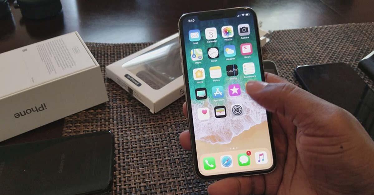 Điện thoại iPhone X bị vô hiệu hóa phải làm gì