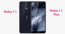 Điện thoại Nokia 7.1 và 7.1 Plus lộ ảnh thực tế – Thời gian ra mắt có thể là ngày 4 tháng 10