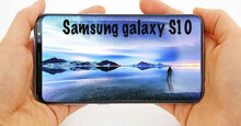 Điện thoại Samsung Galaxy S10 phô trương máy quét vân tay bên trong màn hình