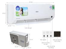 Điều hòa Aqua 9000btu inverter giá rẻ sự lựa chọn tốt cho phòng nhỏ