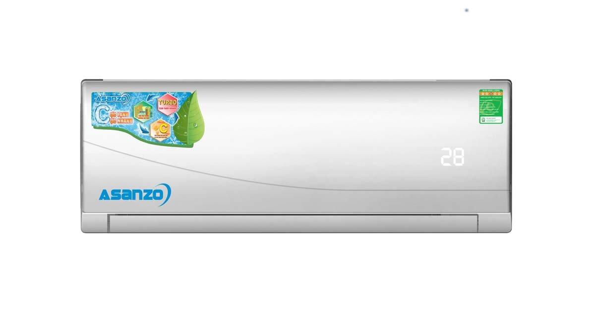Điều hòa Asanzo 12000btu giá rẻ S12 cho các phòng diện tích từ 15-20m2