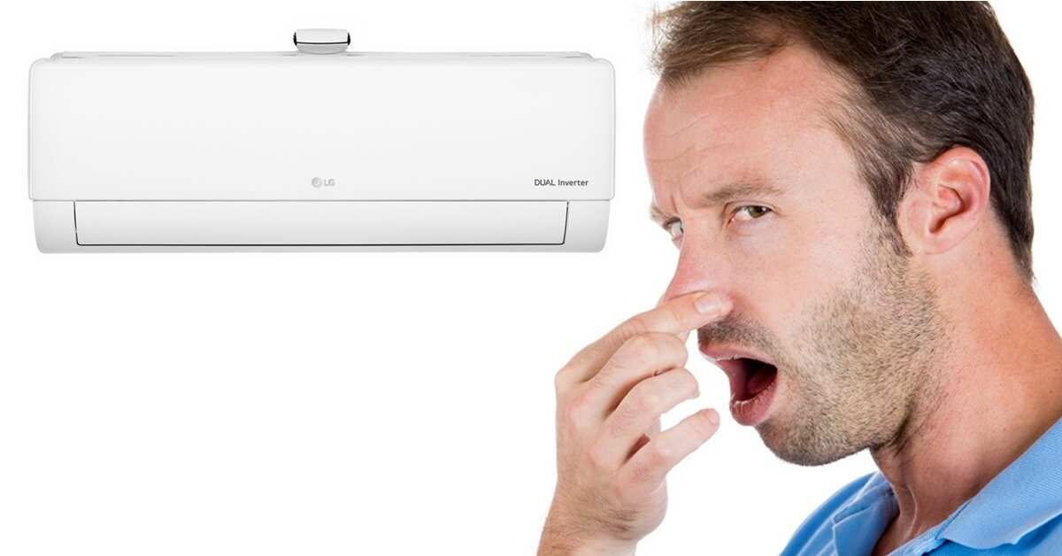 Điều hòa có mùi hôi xử lý như thế nào?