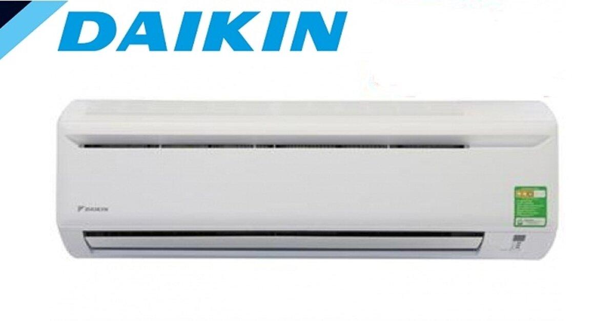 Điều hòa Daikin 1 chiều có loại nào ? Giá bao nhiêu tiền ?