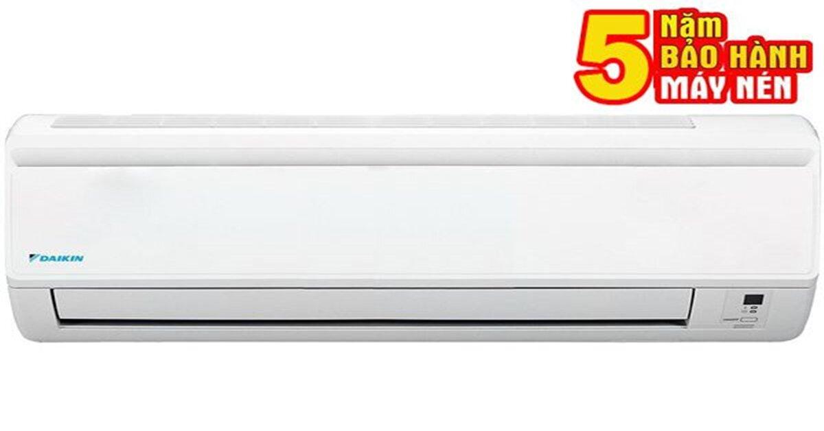 Điều hòa Daikin 1 chiều giá bao nhiêutiền tháng 5/2018
