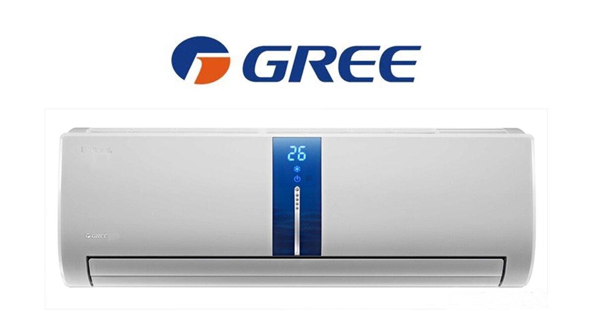 Điều hòa Gree 1 chiều giá rẻ nhất bao nhiêu tiền?