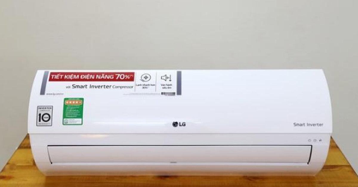Điều hòa LG 9000btu tới 18000btu 1 chiều loại nào tốt ? Giá rẻ nhất bao nhiêu tiền ?