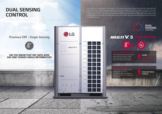 Điều hòa LG Multi V 5 – thế hệ điều hòa tiết kiệm điện cảm biến kép hoàn toàn mới trong năm 2017