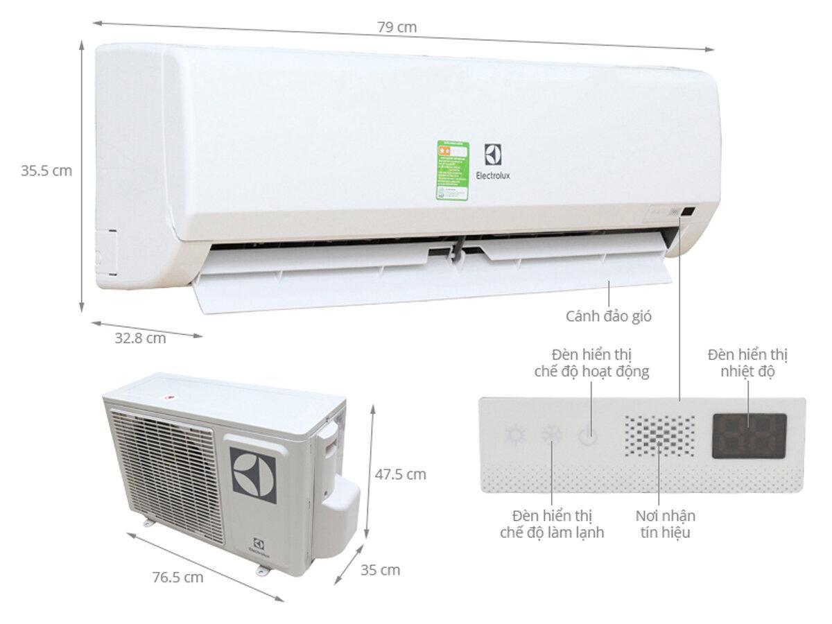Điều hòa, máy lạnh Electrolux giá rẻ nhất bao nhiêu tiền tháng 1/2018