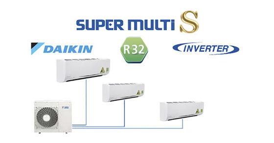 Điều hoà Multi Daikin tiết kiệm hơn – Khả năng làm lạnh tối ưu nhất