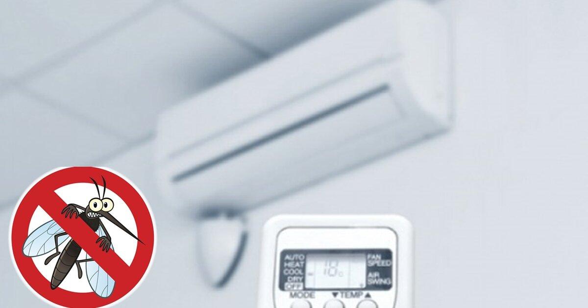 Điều hòa nhiệt độ có chức năng đuổi muỗi không?