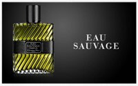 Dior Eau Sauvage for men - chai nước hoa dành cho những người đàn ông trưởng thành