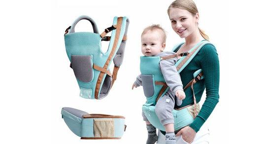 Địu em bé như thế nào thì tốt và an toàn?