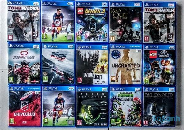 Đĩa game PS4 'hịn' khá đắt đỏ
