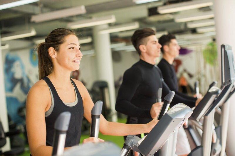 Xe đạp tập thể dục Obitrack được sử dụng phổ biến tại các phòng tập chuyên nghiệp