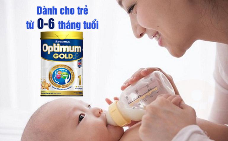 Ưu điểm của sữa bột Vinamilk Optimum Gold 1