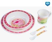 Đồ dùng ăn dặm Canpol Babies 4/401 - Bộ đồ ăn hoàn hảo cho bé