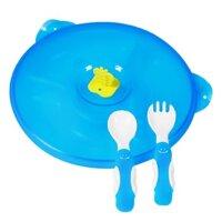 Đồ dùng ăn dặm Natur - Bộ đĩa, muỗng, nĩa xinh xắn và tiện dụng