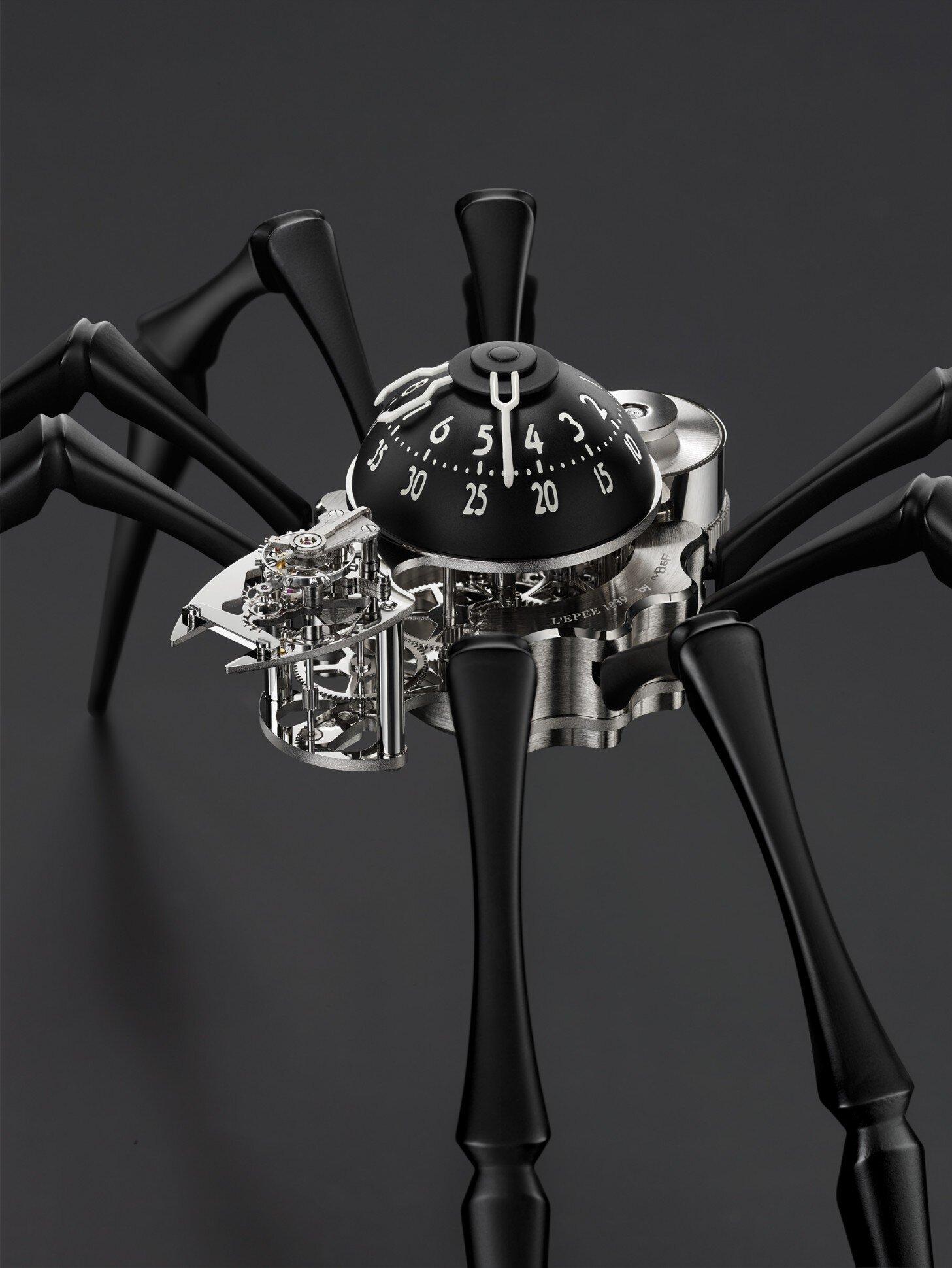 Đồng hồ nhện – giúp bạn vượt qua nỗi sợ nhện