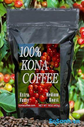 Cà phê Hawaii Kona (Hawaii)