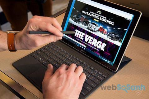 máy tính bảng giá rẻ, máy tính bảng samsung galaxy book gá rẻ