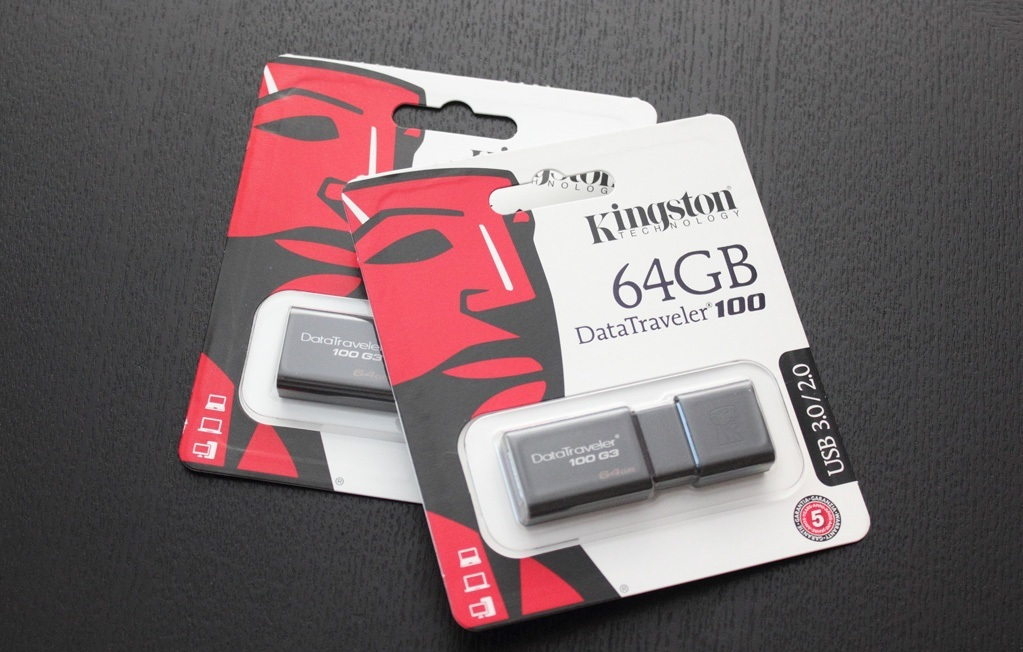 USB Kingston DataTraveler 100G3 3.0
